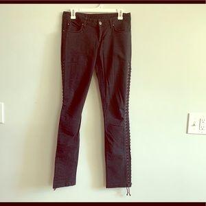 H&M Black Denim Size 8